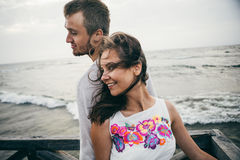 Happy lovers Royalty Free Stock Photography