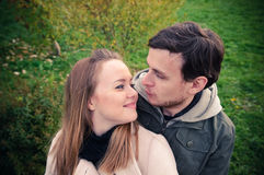 Happy loving couple Royalty Free Stock Image