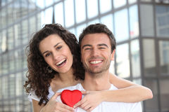 Happy loving couple Stock Images