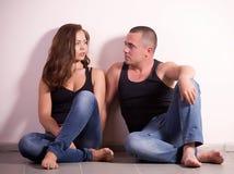 Happy loving couple Stock Photos