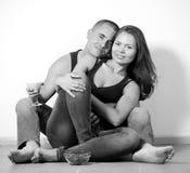 Happy loving couple Royalty Free Stock Photography