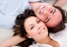 Happy loving couple Stock Image