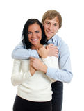 Happy loving couple. Royalty Free Stock Photography