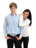 Happy loving couple. Royalty Free Stock Photo