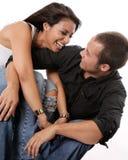Happy Loving Couple Stock Image