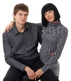 Happy loving couple Royalty Free Stock Photography