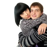 Happy loving couple Royalty Free Stock Photo
