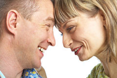 Happy loving couple Stock Photos
