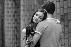 Happy loving couple. Stock Images