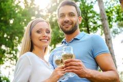 Happy loving couple. Stock Image