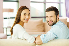 Happy loving couple. Stock Photography