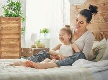 Happy loving family royalty free stock photography