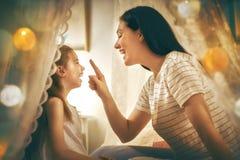 Happy loving family. Stock Photos