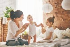 Happy loving family. Stock Photography