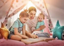 Happy loving family. Royalty Free Stock Photo