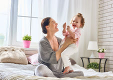 Happy loving family Royalty Free Stock Images