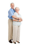 Happy loving seniors Stock Images