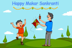 Happy Makar Sankrant Stock Photos