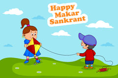Happy Makar Sankrant Royalty Free Stock Photo