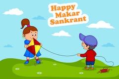 Happy Makar Sankrant Royalty Free Stock Photo
