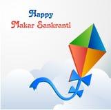 Happy makar sankranti concept Stock Photos