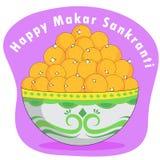 Happy Makar Sankranti Stock Images