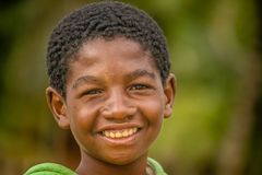 Happy malagasy boy Stock Images