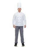 Happy male chef cook Royalty Free Stock Photos
