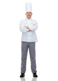 Happy male chef cook with crossed hands Stock Photo