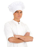 Happy male cook Royalty Free Stock Photo