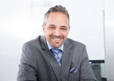 Happy male entrepreneur Stock Photo