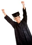 Happy male graduate Royalty Free Stock Photography