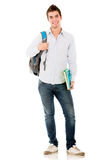 Happy male student Royalty Free Stock Photo