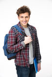 Happy male student standing Stock Photography
