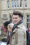 Happy Male Student stock photo