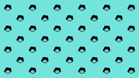 HAPPY MAMA PATTERN Royalty Free Stock Photo