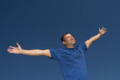 Happy man Royalty Free Stock Photo