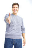 Happy man Stock Photography