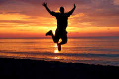 Happy man #3 Royalty Free Stock Image