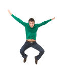 Happy man Stock Images
