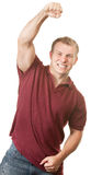 Happy Man Celebrating Royalty Free Stock Photography