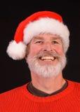 Happy man at Christmas Stock Image