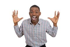 Free Happy Man Excited And Surprisedm, Looking At Camera Royalty Free Stock Photos - 37600578