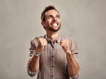 Happy man. Stock Photos