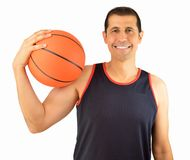 Let s play basketball Royalty Free Stock Image