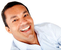 Happy man portrait Royalty Free Stock Images