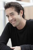 Happy man smiling Stock Photography