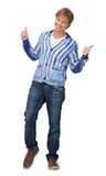 Happy Man with Thumbs Up Royalty Free Stock Image