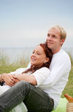 Happy Man and woman Stock Photo