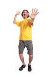 happy man young Στοκ Εικόνες